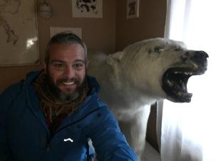 Ahí esta el oso polar! Foto: Bruno Aldrufeu Quiñonero