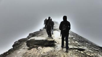 El paso angosto. Foto: Bruno Aldrufeu Quiñonero